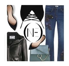 ONEDENIIM.com by monmondefou on Polyvore featuring Boohoo, Acne Studios, J.Crew, Chloé, vintage, denim, Blue and denimjeans