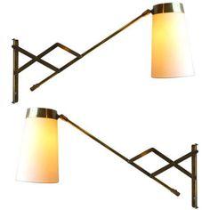 Adjustable brass pair light_large.jpg 768×768 pixels
