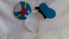 Donald Duck Mickey ears by SockoAndMos on Etsy https://www.etsy.com/listing/255018363/donald-duck-mickey-ears