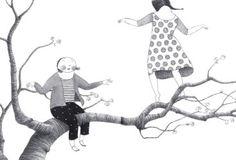 Jugando en las ramas de Elena Odriozola