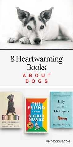 If you love a good heartwarming dog story, you'll love the books about dogs on this list from Mind Joggle. These fiction and nonfiction books are perfect cozy reading for any dog lover. #books #booklist #dogs Literary Fiction, Fiction And Nonfiction, Dog Minding, Dog Ages, Dog Books, Dog Stories, Popular Books, History Books, Book Reviews