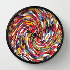 Spinning Wall Clock by Danny Ivan