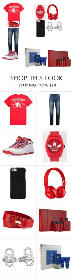 """my boy outfit"" by keysharakent13 on Polyvore featuring True Religion, NIKE, adidas, Polo Ralph Lauren, Beats by Dr. Dre, Salvatore Ferragamo, Ralph Lauren, Givenchy, men's fashion and menswear"