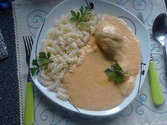 Kuřecí na zelenině se smetanou Risotto, Soup, Ethnic Recipes, Soups
