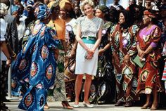 Memories Of Diana : Day Two Of Charles & Diana's Royal Visit To Nigeria - March 16th 1990