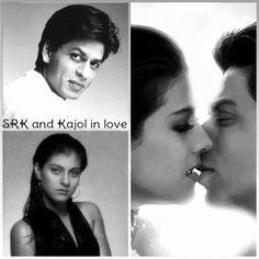 Wow who on earth managed to make this Shahrukh Khan And Kajol, Shah Rukh Khan Movies, Aamir Khan, Bollywood Stars, Bollywood Couples, Beautiful Couple, Beautiful Women, Sr K, Star Wars