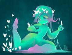 Slime Gal by SuperOotoro.deviantart.com on @deviantART
