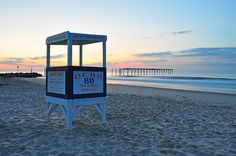 60th Street Lifeguard Stand, Ocean City, NJ - August 2011 Vaca with family