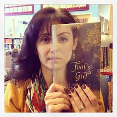 She's no fool but our Children's/Readers' Services Librarian Rosemarie B., happily posed for today's #bookfacefriday with the book, The Fool's Girl by Celia Rees. #syosset #library #books #yabooks #teenbooks #reading #nypl #bookface #librarians #bookcovers #celiarees @celiarees #foolsgirl #syossetbookface