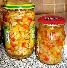 Čalamáda Pickle Jars, Pickling, Salsa, Vegetables, Eat, Ethnic Recipes, Food, Salad Toppings, Chow Chow