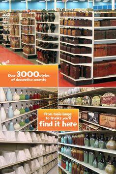 Garden Ridge Craft And Decor Store!