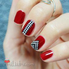 decorado de uñas color ladrillo - Buscar con Google