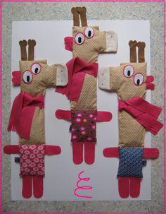 Les Girafes-à-Lunettes roses !