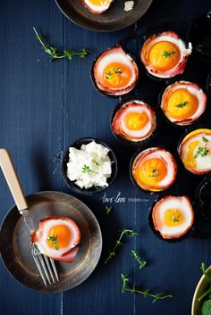 Bacon & Egg Cups | Two Loves Studio
