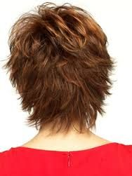 The back of the Raquel Welch hair style