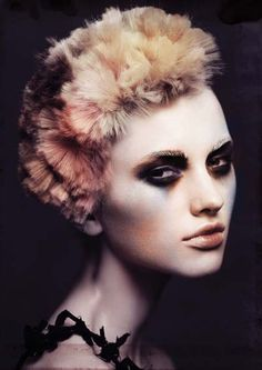 2013 Hair Expo Collection: Photographer: Andrew O'Toole Make up: Kylie O'Toole Hair: Frank Apostolopoulos 3 4 Face, Hair Expo, Avant Garde Hair, Editorial Hair, Creative Hairstyles, Funny Hairstyles, Prom Hairstyles, Hairstyle Ideas, Crazy Hair