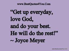 joyce meyer quotes - http://www.youtube.com/joycemeyerpreaching #joycemeyer
