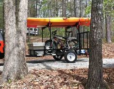 Kayak Trailers - 30 Photo Ideas to Buy or Build Your Own