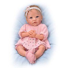 Linda Murray Claire Lifelike Baby Doll - Realistic Baby Dolls