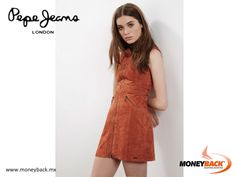 MONEYBACK MEXICO. PEPE JEANS has a varied collection of dresses that stand out for their unique style. Don't miss visiting Pepe Jeans in Mexico and for your purchase getting a tax refund at any Moneyback module! #moneyback www.moneyback.mx