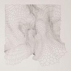 Matthew Shlian, Paper Engineering, Drawing: