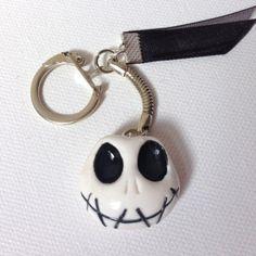 Porte clés Mr Jack en pâte fimo : Porte clés par sidofimo-creation