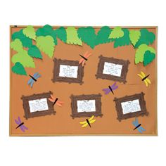 Create a unique way to display the bible points for the week with this cute and whimsical bulletin board. Great for the Journey Off The Map 2015 VBS theme. Let's stay connected http://www.accucuteducation.com/Sign-up-for-E-mails-W3.aspx