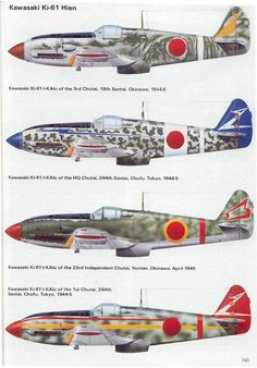 Imperial Japanese Army - Fighter Aircraft