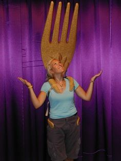 Fork Costume For Beauty And The Beast Live Stageshow