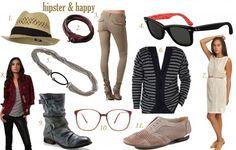 Mujer Hipster. fondosmil.