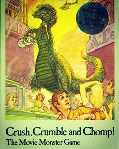 Crush, Crumble and Chomp! History Of Video Games, Monster Games, Board Games, Pc Games, Gaming Computer, Cool Toys, Videogames, The Past, Creatures