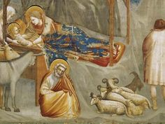 Джотто ди Бондоне (итал. Giotto di Bondone) (ок. 1267—1337). Фрески капеллы дель Арена (или капеллы дельи Скровеньи) в Падуе (1304-1306)