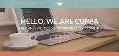 We Are Cuppa website has a Great Web Design | Best Web Designs