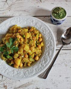 Potato Pea Masala | Big Girls, Small Kitchen