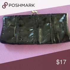 Express clutch purse Black stylish with pocket inside. Express Bags Clutches & Wristlets