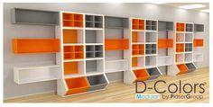 negocios comercio estanterías mostradores decoración - Buscar con Google