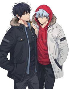 이미지 Handsome Anime Guys, Cute Anime Guys, Anime Style, Manga Anime, Anime Art, Gintama Wallpaper, Otaku, Anime Friendship, Anime Life