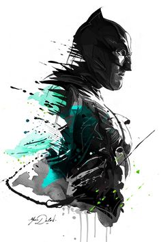 Batman vs Superman on Behance Batman Drawing, Batman Artwork, Batman Painting, Dc Comics Art, Marvel Dc Comics, Illustration Batman, Simple Illustration, Le Joker Batman, Batman Tattoo