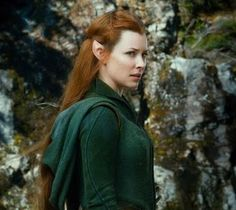 Evangeline Lilly -Tauriel, the capt. of the Elves army.