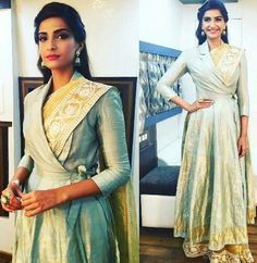 64fb58f87e3 Looking for a similar jacket-scree as the one Sonam Kapoor is wearing Saree  Blouse