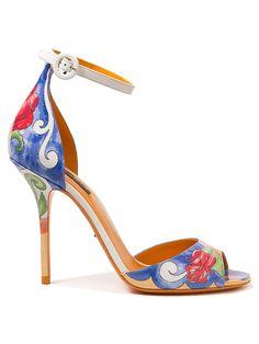 Dolce and Gabbana Hand Painted Heel | Kirna Zabete