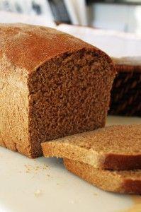 Whole Wheat Bread! I so need a bread maker!