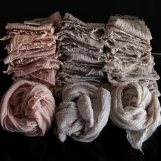 Plant Dyed Napkins {ASSORTED COLORS}