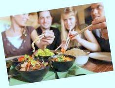 Comer Saludable en un Restaurante