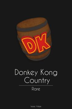 Donkey Kong Country by Isaac-Volpe on DeviantArt Video Game Posters, Video Game Art, Super Nintendo, Diddy Kong, Conceptual Drawing, Donkey Kong Country, Big Brown, 90s Kids, Super Smash Bros