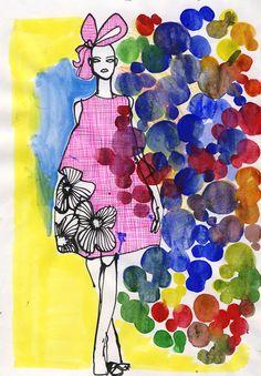 Marie El-Ahmar Love Couture, Fashion Art, Fashion Design, Fashion Illustrations, Disney Characters, Fictional Characters, Illustration Art, Sketch, Watercolor
