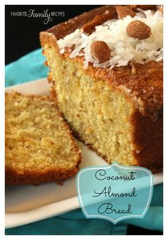If you are anything like me and are crazy about coconut, you are going to love this! #coconutbread #coconutbreadrecipe