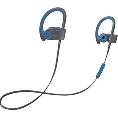Beats by Dr. Dre - Powerbeats2 Wireless Earbud Headphones - Blue - Front Zoom