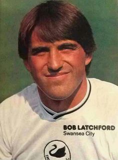 Bob Latchford of Swansea City in 1981.