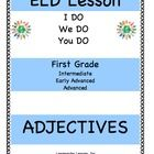 ELD Lesson Plan for First Grade, Adjectives
